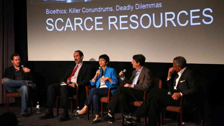 Directors and bioethicists hashed out how moral medical issues should be depicted on screen during a meeting in Los Angeles.