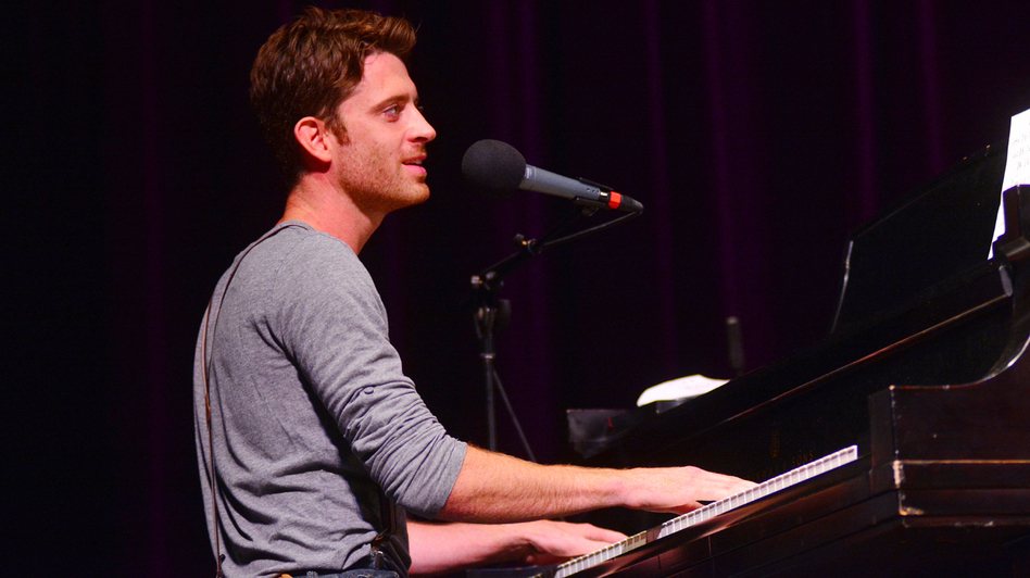 Brendan James performs live on Mountain Stage.