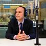 Rep. Luis Gutierrez at NPR's Washington DC studios.