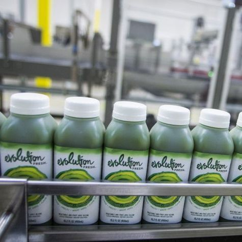 Evolution Fresh, owned by Starbucks, plans to quadruple its production of cold-pressed juice at a newly opened factory.