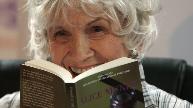 "The Nobel Prize committee called Canadian author Alice Munro, seen in 2009, a ""master of the contemporary short story."""