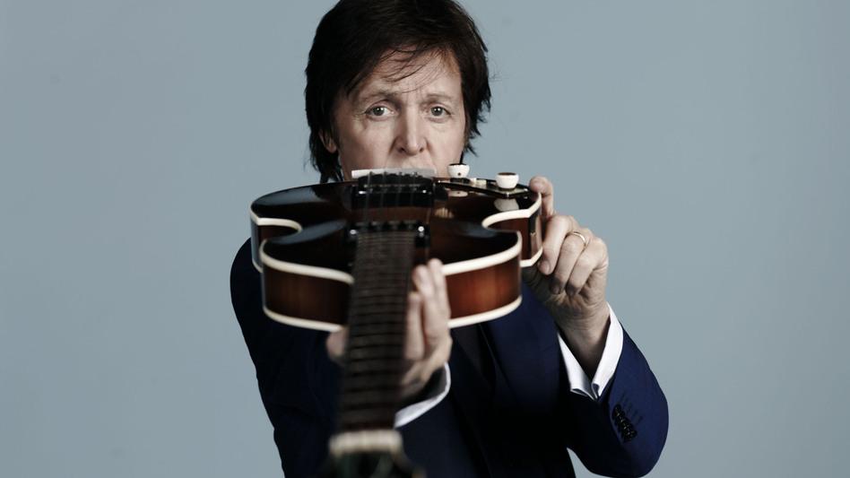 Paul McCartney's latest album, <em>New</em>, is out now. (Mary McCartney/Courtesy of the artist)
