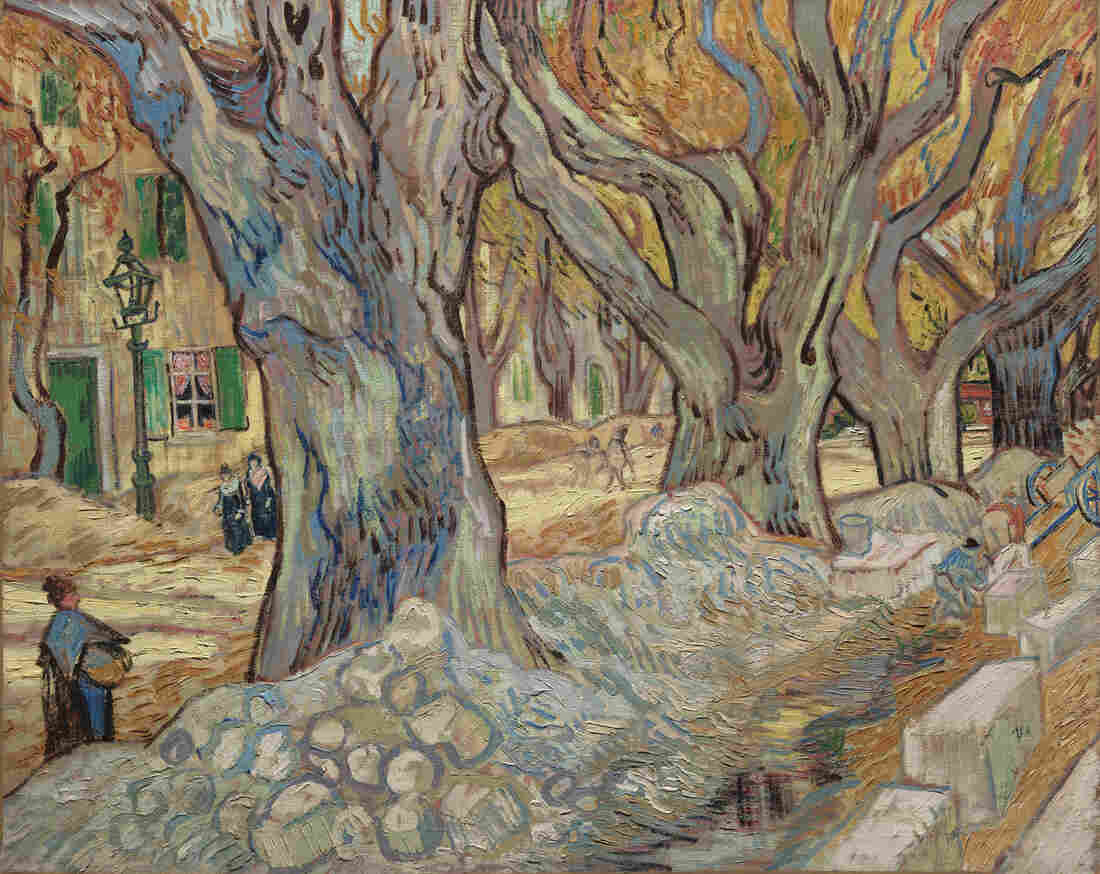 Vincent van Gogh, The Large Plane Trees (Road Menders at Saint-Rémy), 1889