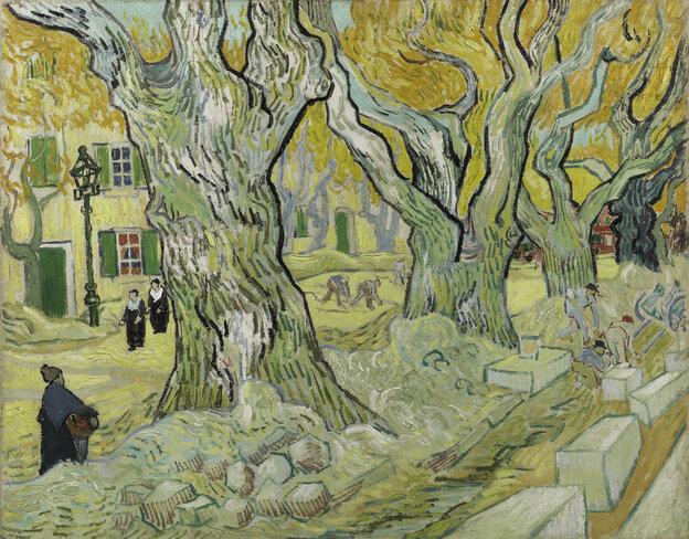 Vincent van Gogh, The Road Menders, 1889