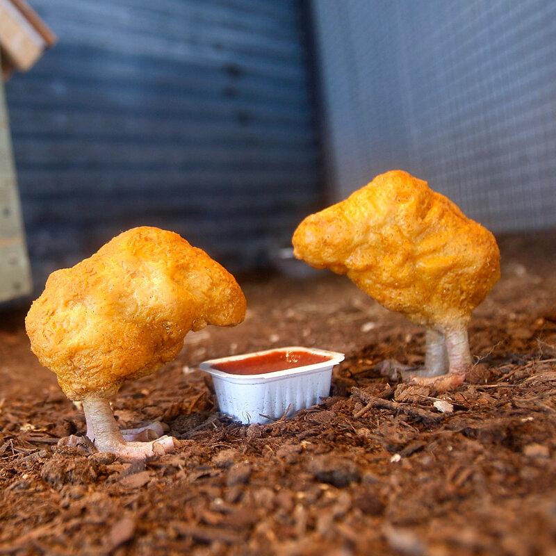 Witness The Birth Of A Mcdonalds Chicken Mcnugget The Salt Npr