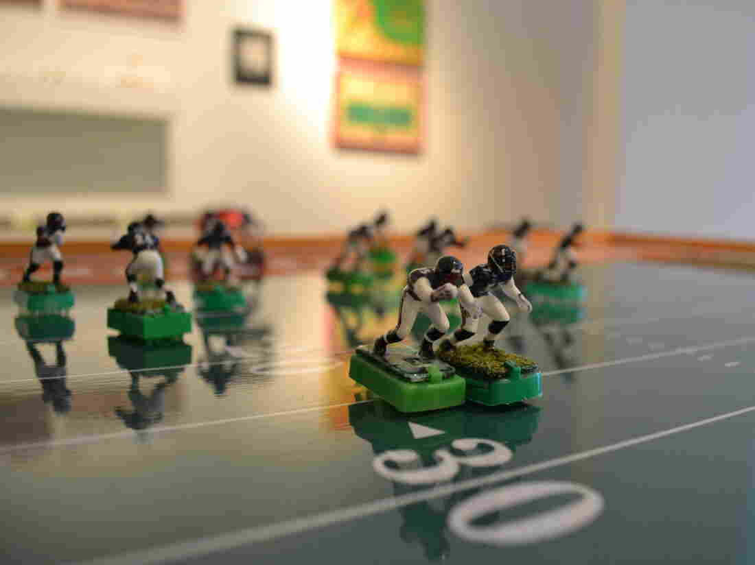 Electric football survived the advent of Madden video games and today has a cult following.
