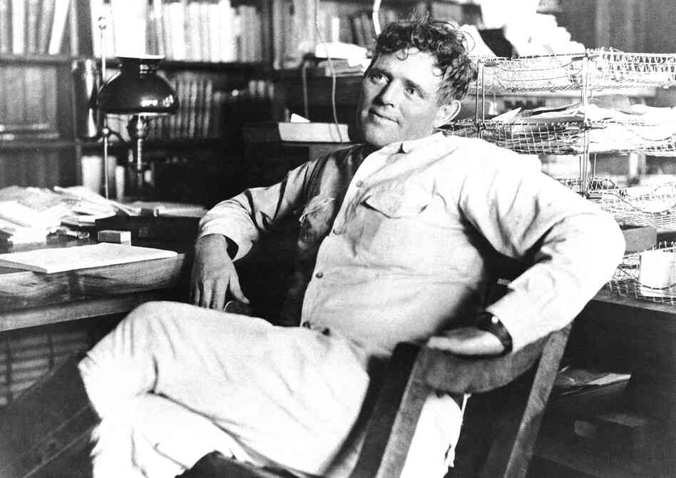 Jack London's 1903 The Call of the Wild was a sensation — it sold one million copies and made London the most popular American writer of his generation. He's shown above in 1916, shortly before his death at age 40.