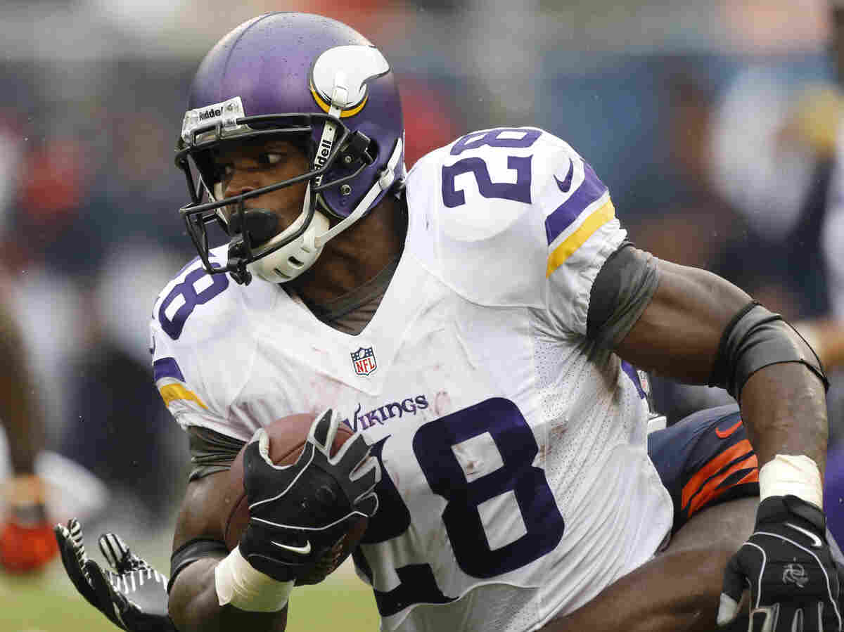 Lots of fantasy owners are taking out insurance on Adrian Peterson this year.