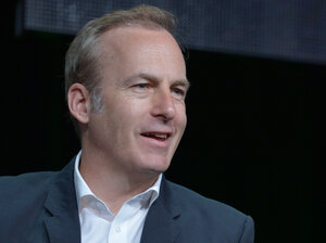 Actor Bob Odenkirk participates in an AMC TCA Panel in July 2013 in Beverly Hills, Calif.