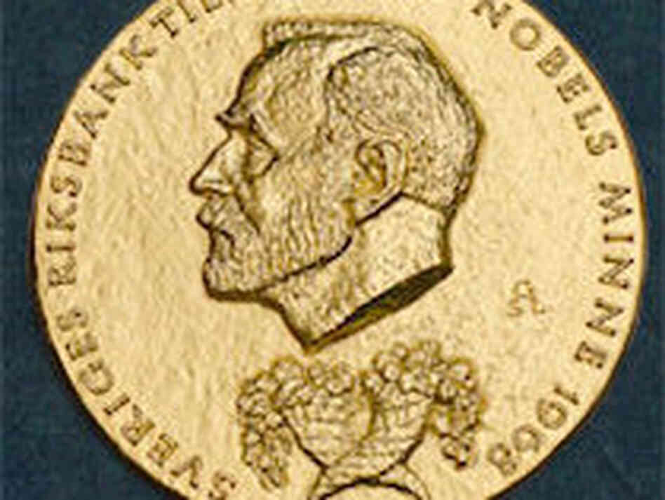The medal for the Nobel Prize in Economics