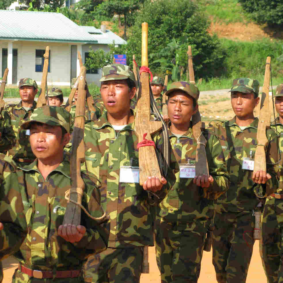 For Myanmar's Kachin Rebels, Life Teeters Between War, Peace