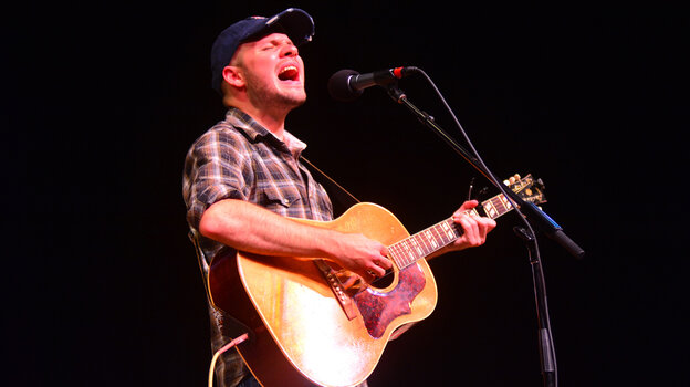 Mark Bates performs live on Mountain Stage.