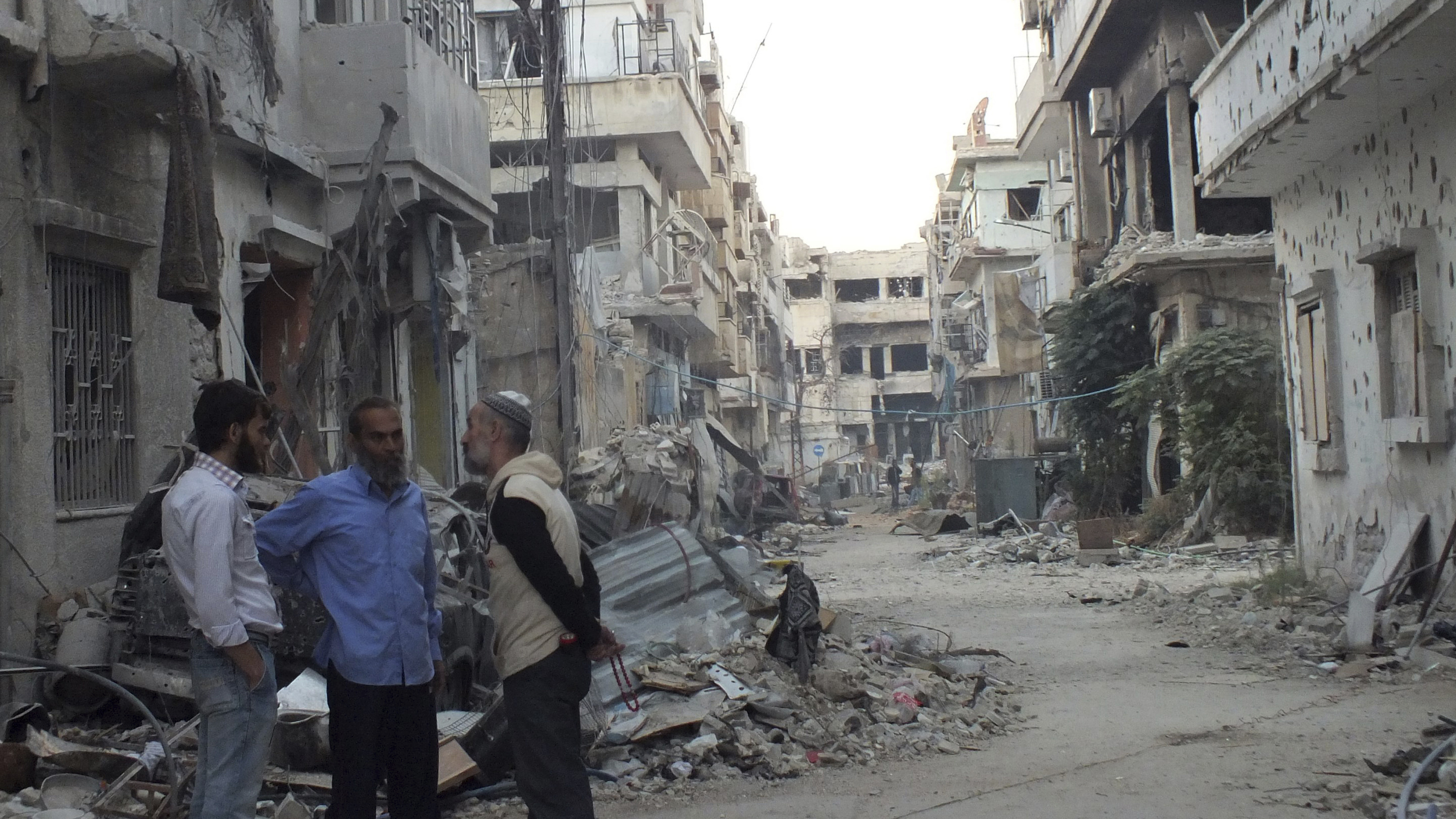 Syrians Are Widely Critical Of Nobel Peace Prize Decision