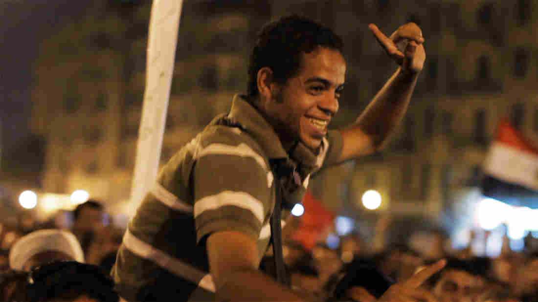Ahmed Hassan is the leader of the group of young Egyptian revolutionaries at the center of The Square.