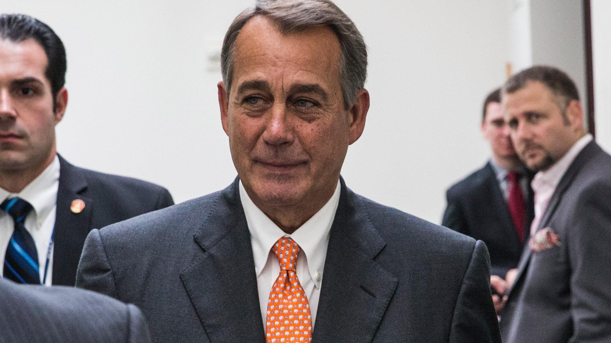 Senate Democrats Visit Obama; Boehner Says Talks Are Over