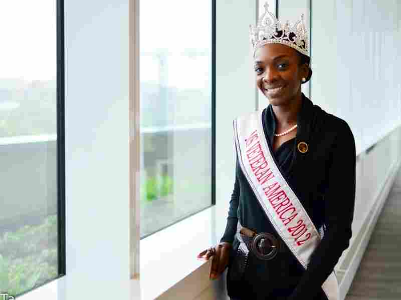 Ms. Veteran America Denyse Gordon's knowledge of military history helped her win the crown.