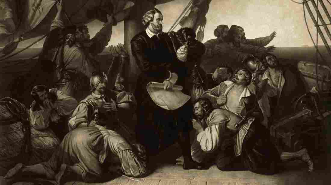 Though he sailed in 1492, Christopher Columbus was not widely known among Americans until the mid-1700s.