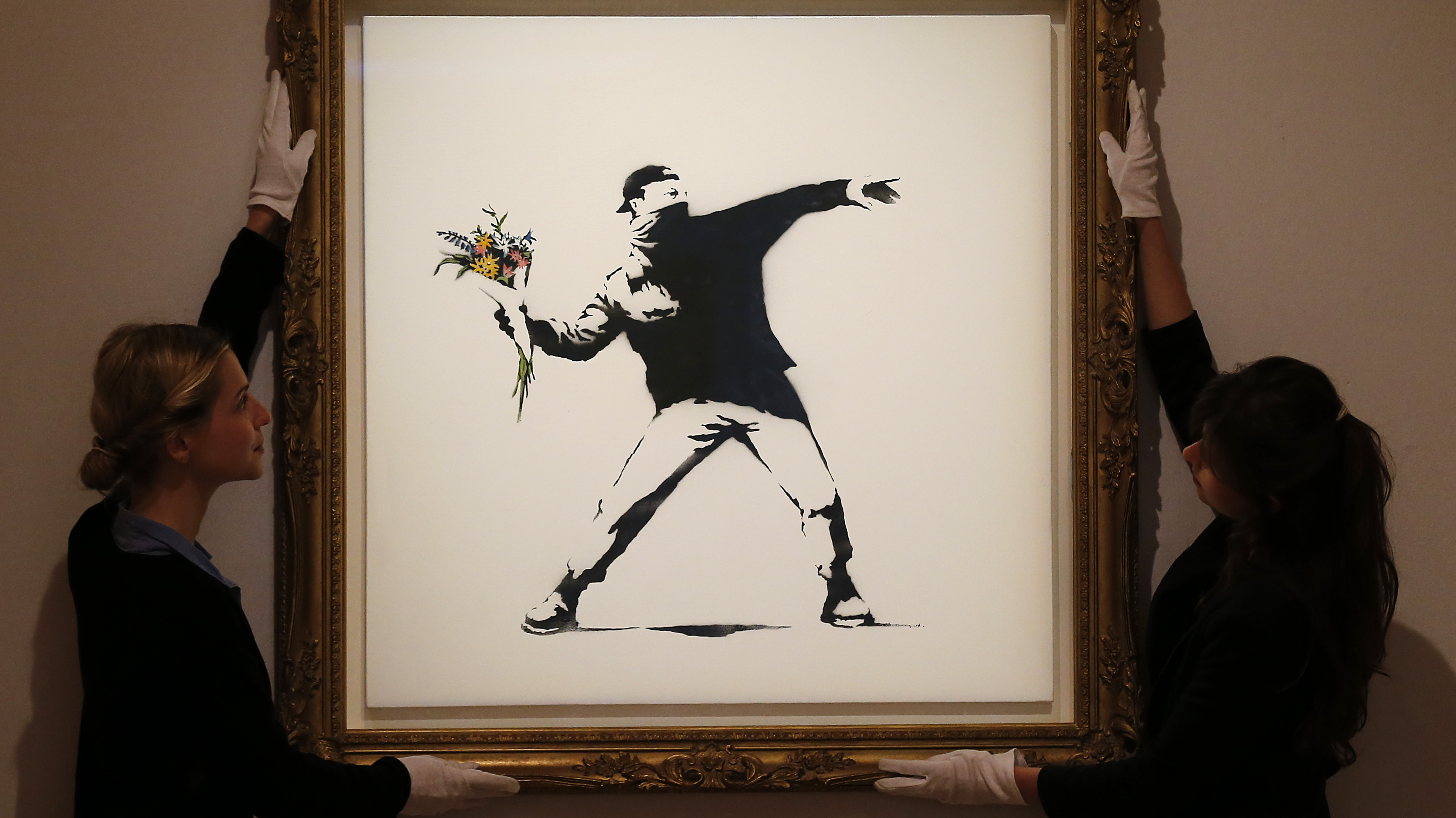 Collectible Art At Street Prices: Banksy Sells Pieces For $60
