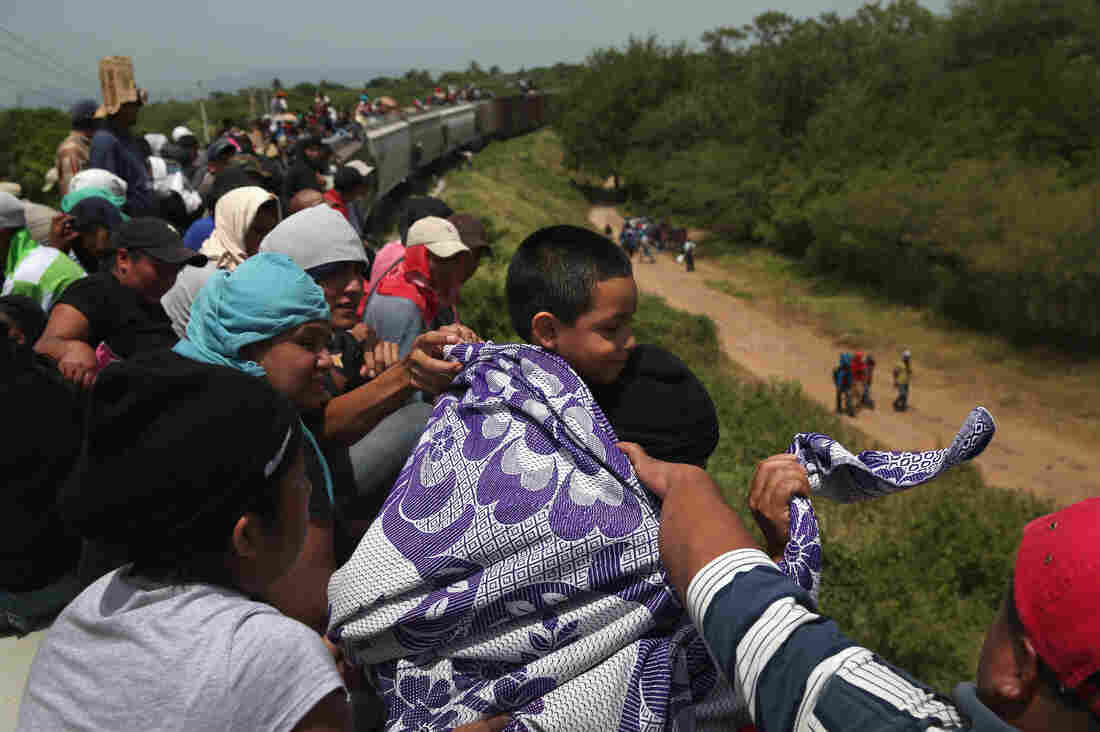 IXTEPEC, MEXICO — Thousands of Central American migrants ride trains known as La Bestia (the beast) during their long and perilous journeys north through Mexico to the U.S. border.