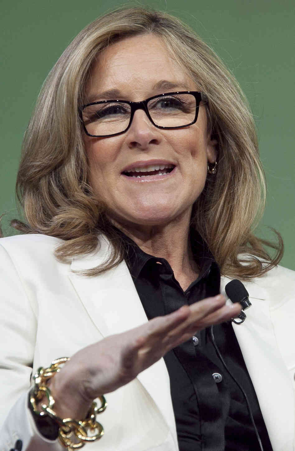 Angela Ahrendts is leaving her post as CEO of Burberry to head the online and retail division at Apple. She will become the first woman in the tech company's senior executive ranks.