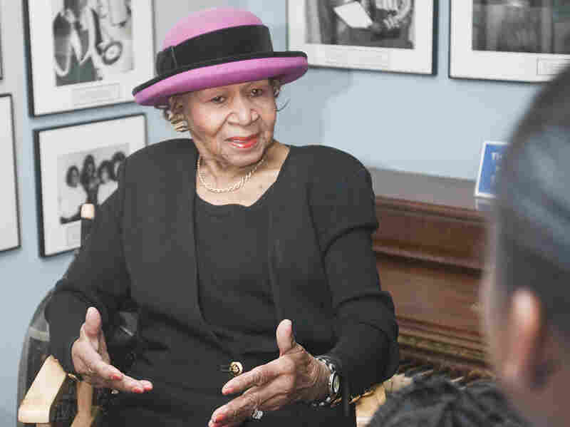 """Powell mentored Motown artists like Smokey Robinson, Marvin Gaye and the Supremes. """"Ladies dance with their feet, not their buttocks,"""" she'd tell the girl groups."""