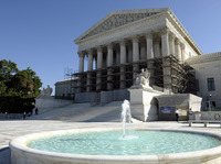The Supreme Court is expected to take up the case on the greenhouse gas permits for large polluters early next year.