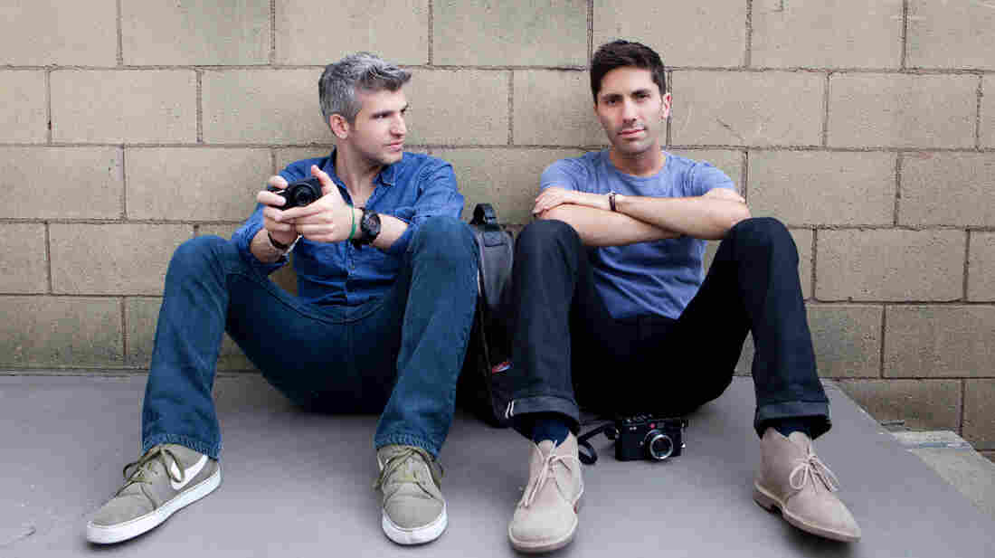 Max and Nev, probably thinking about how terrible Internet liars are.