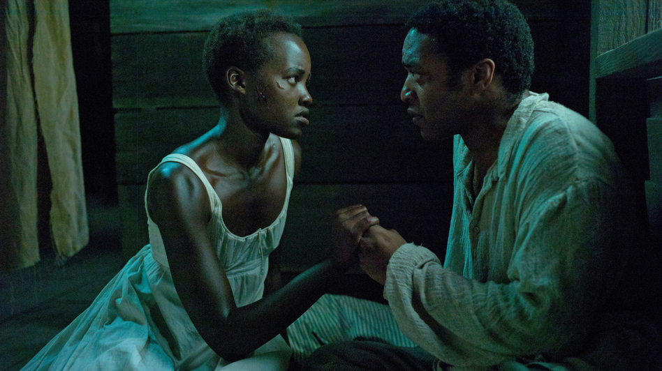 Lupita Nyong'o and Chiwetel Ejiofor play Patsey and Solomon, two slaves on a Louisiana plantation, in <em>12 Years a Slave</em><em>.</em> (Francois Duhamel/Fox Searchlight Pictures)