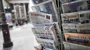 A newsstand in Paris.
