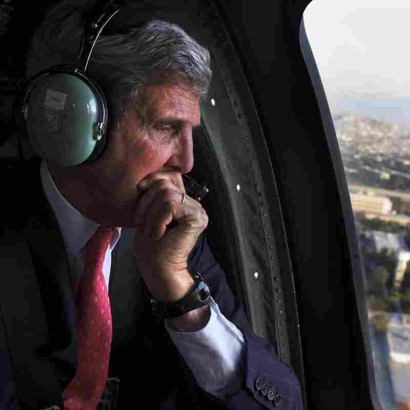 Kerry Says He Hopes Syria's Chemical Weapons Are Shipped Out Of Region