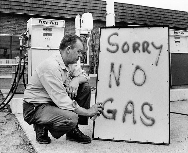 Image result for oil embargo 1973 images