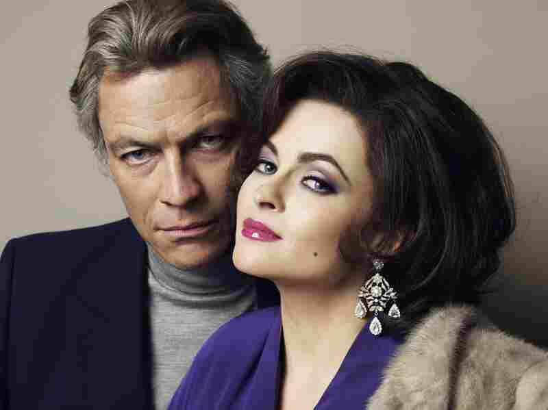 Dominic West and Helena Bonham Carter star as Richard Burton and Elizabeth Taylor in Burton and Taylor, a new made-for-TV movie from BBC America.