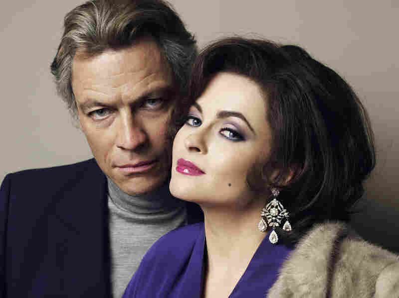 Dominic West and Helena Bonham Carter in Burton And Taylor.