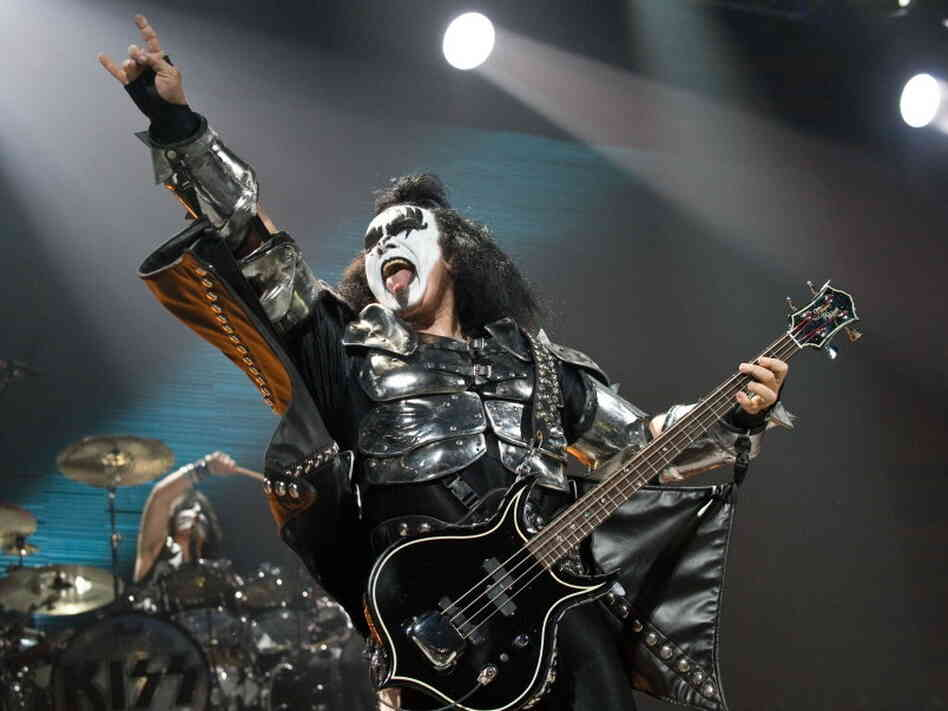 Gene Simmons of KISS during a 2009 concert in Washington, D.C.