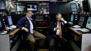 Traders at the New York Stock Exchange on Wednesday. Stocks surged on Wall Street after Senate leaders reached a deal that would avoid a U.S. default and reopen the government after 16 days of being partially shut down.