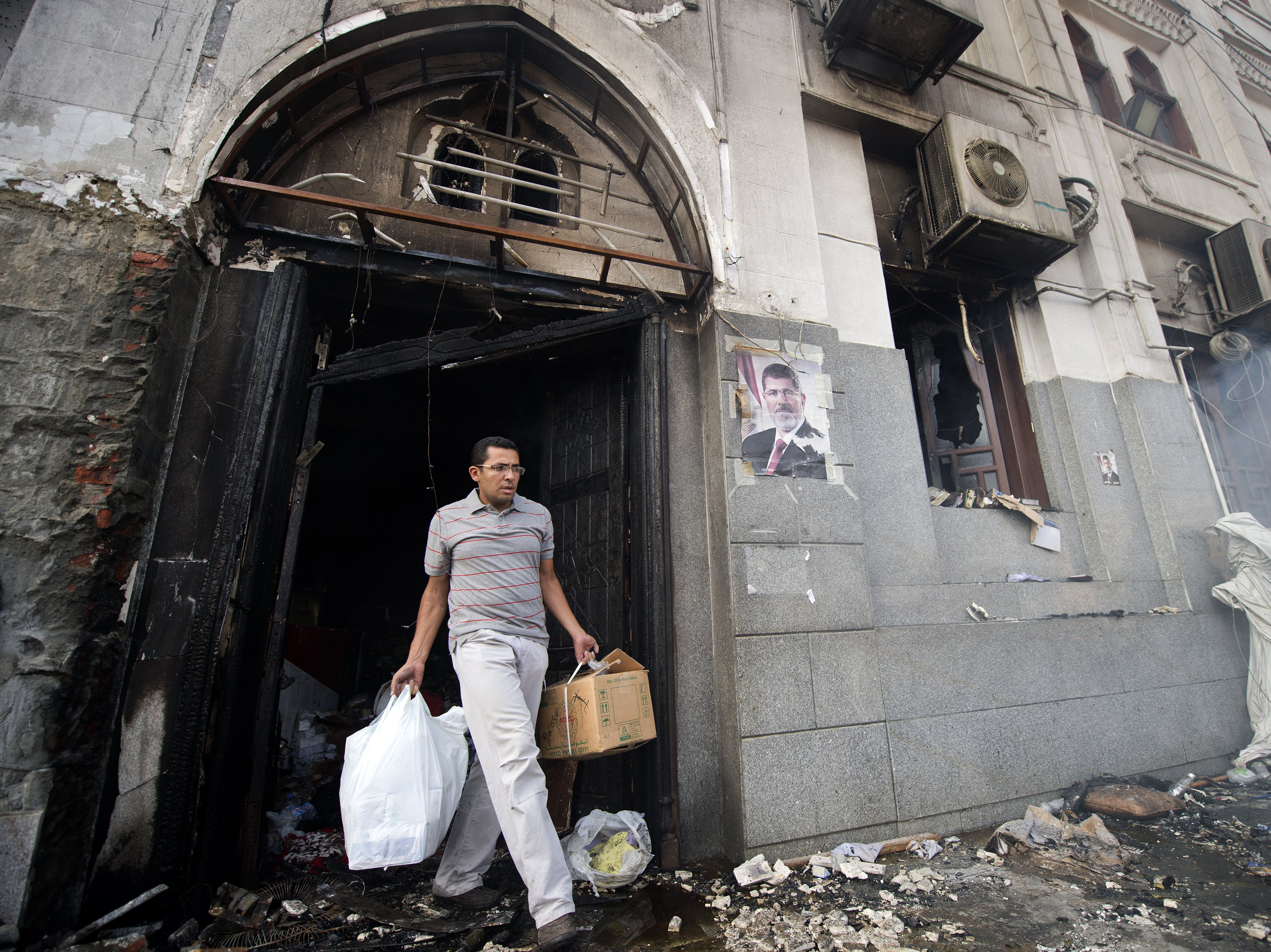 Egypt's Crackdown On Islamists Spreads To Mosques, Charities