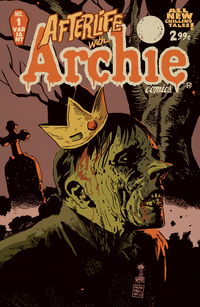 Cover of Afterlife with Archie #1.