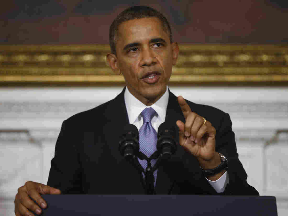 """At the White House on Thursday, President Obama said """"the American people are completely fed up with Washington."""""""