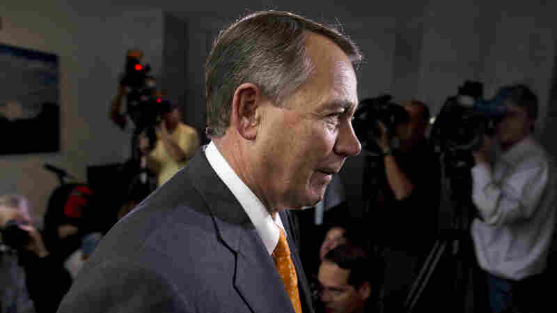 With the shutdown-debt ceiling fight over, Speaker John Boehner, R-Ohio, appeared to strengthen his hand within the House GOP caucus but weaken it outside that group.