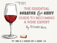 The 10-page board book is as sweet to the nose as it to the eyes. But don't let the playfulness fool you: There's some serious wine science hidden in there.