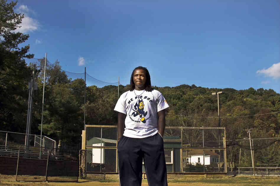 Antonio Bolden, a 19-year-old student and baseball play