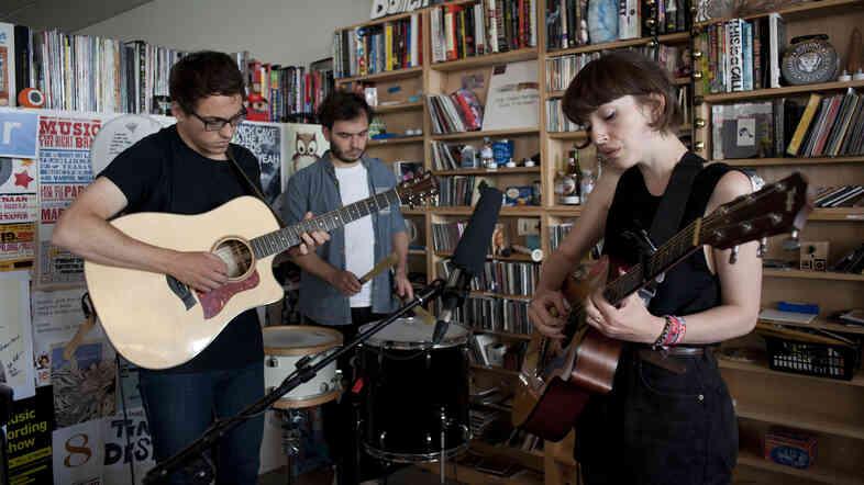 Daughter performs a Tiny Desk Concert in August 2013.