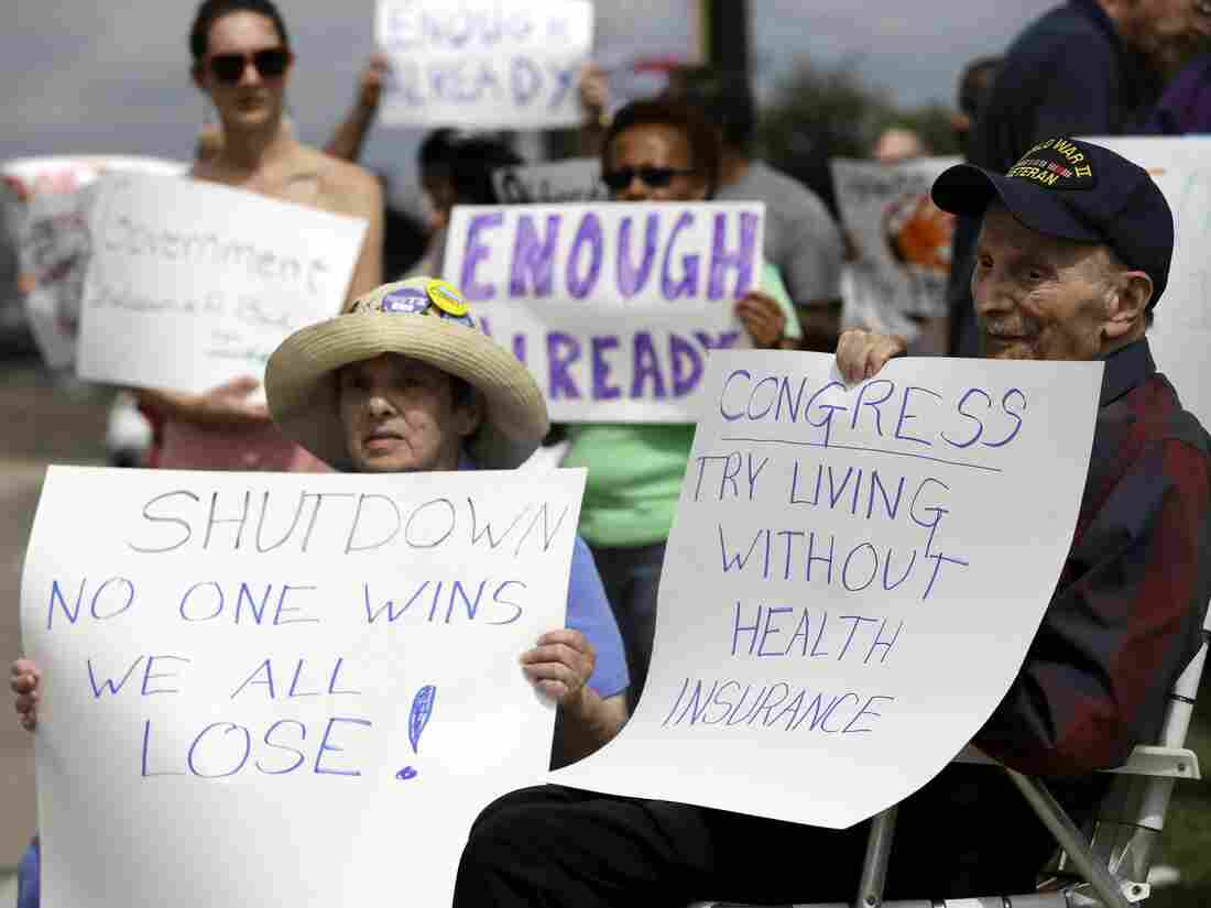 Susan and Jack Cooper of Richardson, Texas, demonstrate again