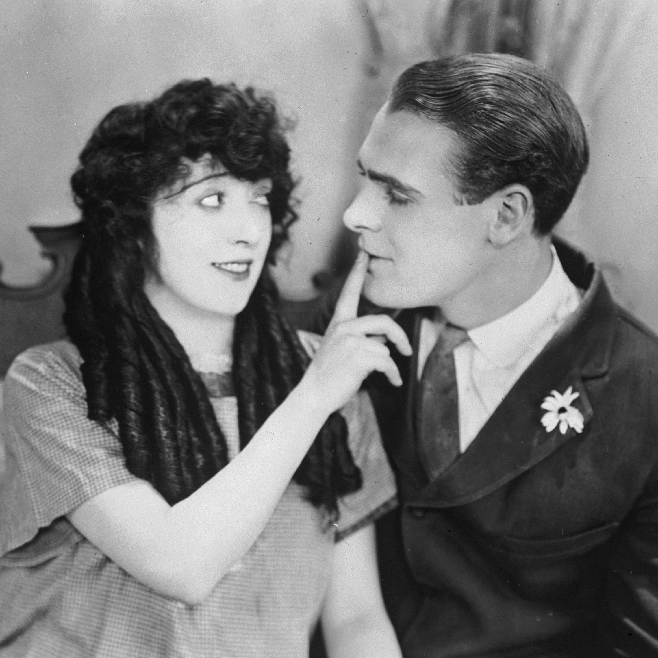 Mabel Normand stars with Ralph Graves in the 1923 film 'The Extra Girl.'
