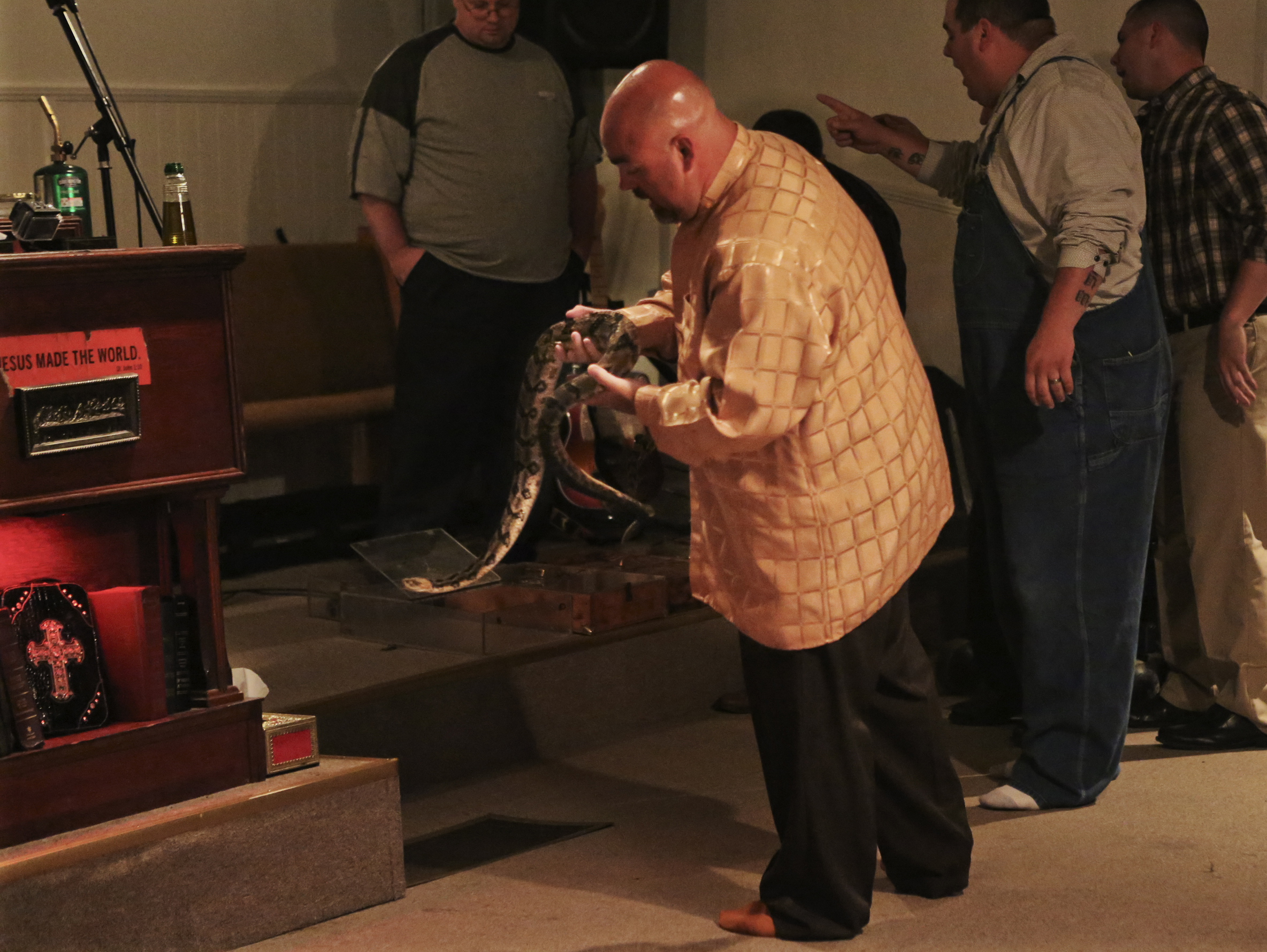 snake handling The cautionary parable of a snake-handling preacher  no safety net, then how  would men of god like hamblin test their faith  he'd seen too many snakebites  and deaths in serpent-handling churches in recent months.