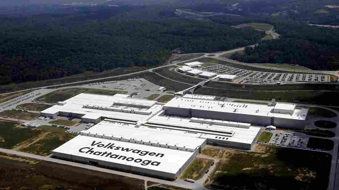 volkswagen union opposed  tennessee republican officials npr