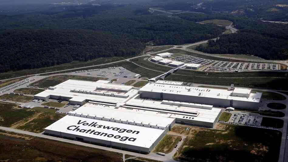 Volkswagen Union Opposed By Tennessee Republican Officials : NPR
