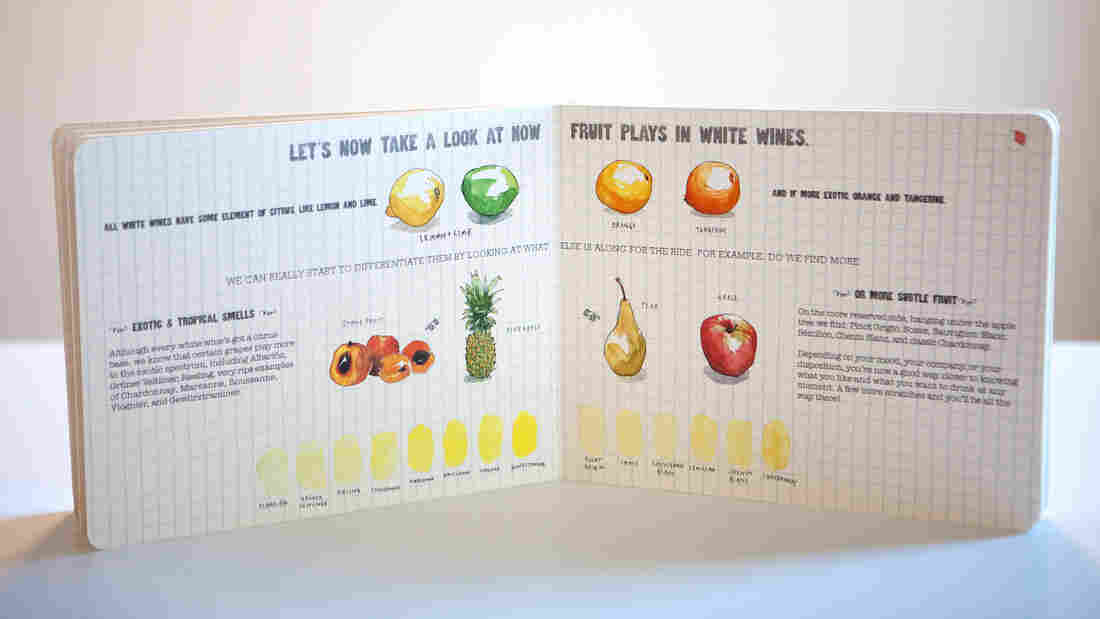 Take a whiff of those pears and peaches: All white wines have a citrus aroma, but some also emit tropical or more subtle fruit flavors, Richard Betts explains in his book.