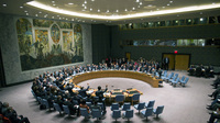The U.N. Security Council votes on a resolution requiring Syria to give up its chemical weapons last month in New York. Last week, Saudi Arabia turned down a chance to take a seat on the Council.