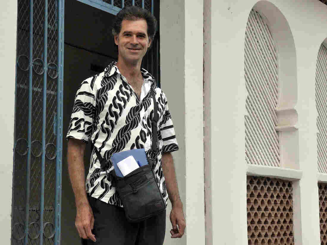 Mike Spencer Bown in Mogadishu, Somalia, in December 2010.